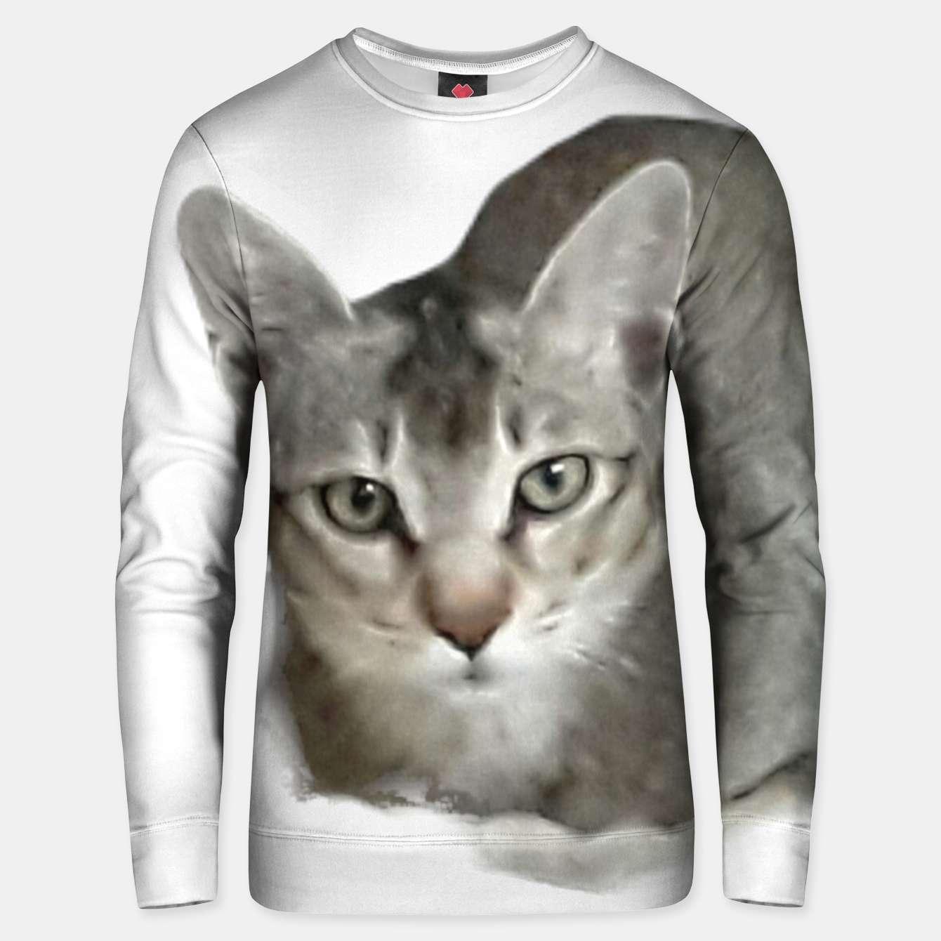Image of THAT FACE Cute Kitten Abyssinian Unisex sweater - Live Heroes