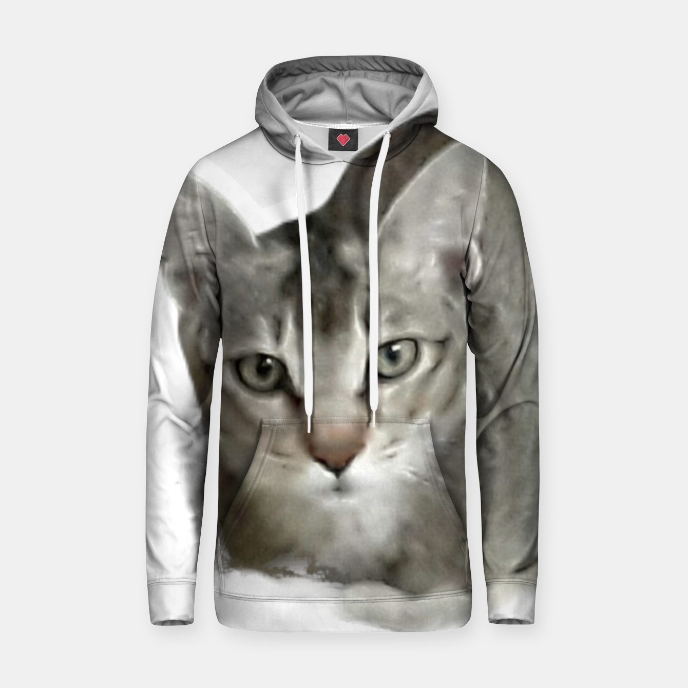 Image of THAT FACE Cute Kitten Abyssinian Hoodie - Live Heroes