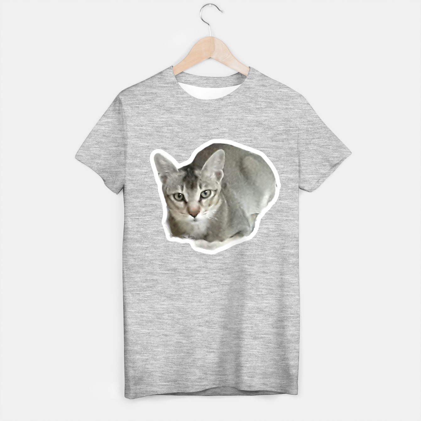 Image of THAT FACE Cute Kitten Abyssinian T-shirt regular - Live Heroes