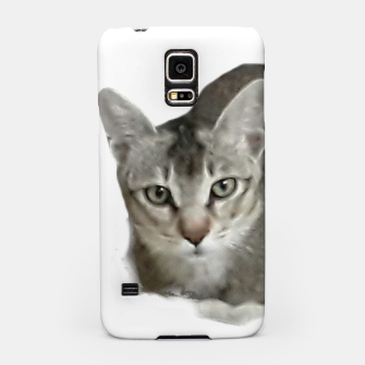 Miniature de image de THAT FACE Cute Kitten Abyssinian Samsung Case, Live Heroes