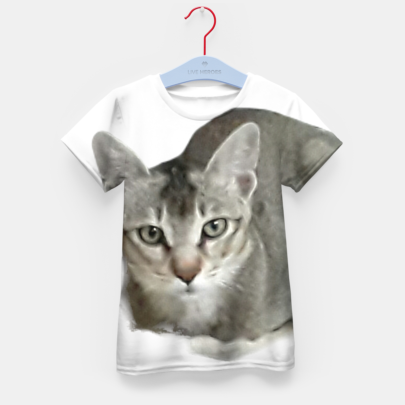 Image of THAT FACE Cute Kitten Abyssinian Kid's t-shirt - Live Heroes