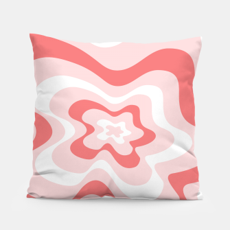 Thumbnail image of Abstract pattern - pink. Pillow, Live Heroes