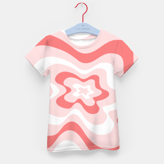 Miniaturka Abstract pattern - pink. Kid's t-shirt, Live Heroes