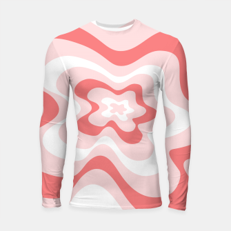Thumbnail image of Abstract pattern - pink. Longsleeve rashguard , Live Heroes