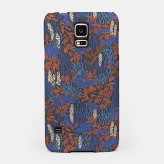 Thumbnail image of Cobalt tropical lush bright Samsung Case, Live Heroes