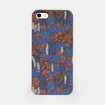 Thumbnail image of Cobalt tropical lush bright iPhone Case, Live Heroes