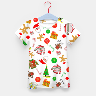 Miniature de image de Christmas Fun Kid's t-shirt, Live Heroes