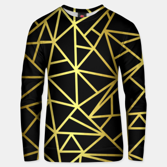 Thumbnail image of Golden Geometric Shapes Unisex sweater, Live Heroes