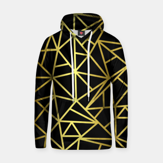 Thumbnail image of Golden Geometric Shapes Hoodie, Live Heroes