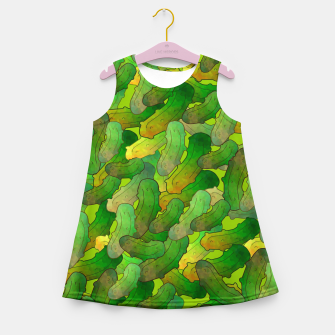 Thumbnail image of Dill Pickles Girl's summer dress, Live Heroes