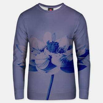 Thumbnail image of Lotus Flower Unisex sweater, Live Heroes