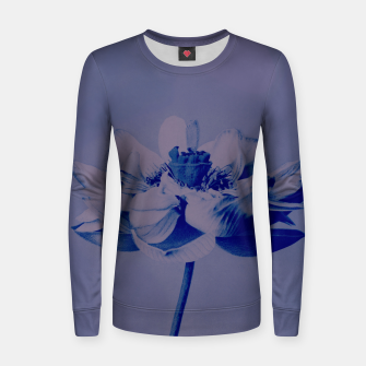 Thumbnail image of Lotus Flower Women sweater, Live Heroes