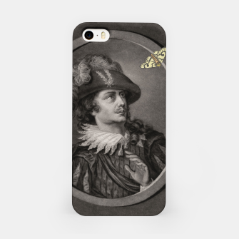 Thumbnail image of Man and Moth iPhone Case, Live Heroes