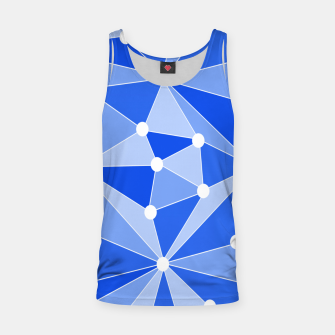 Thumbnail image of Abstract geometric pattern - blue. Tank Top, Live Heroes