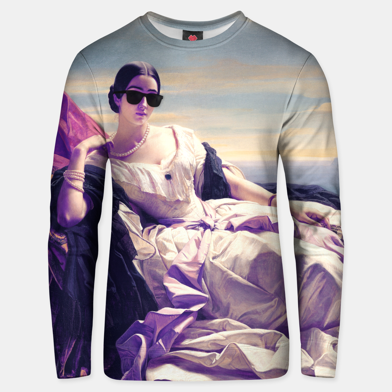 Image of Portrait of Leonilla Princess of Sayn-Wittgenstein Remastered Unisex sweater - Live Heroes