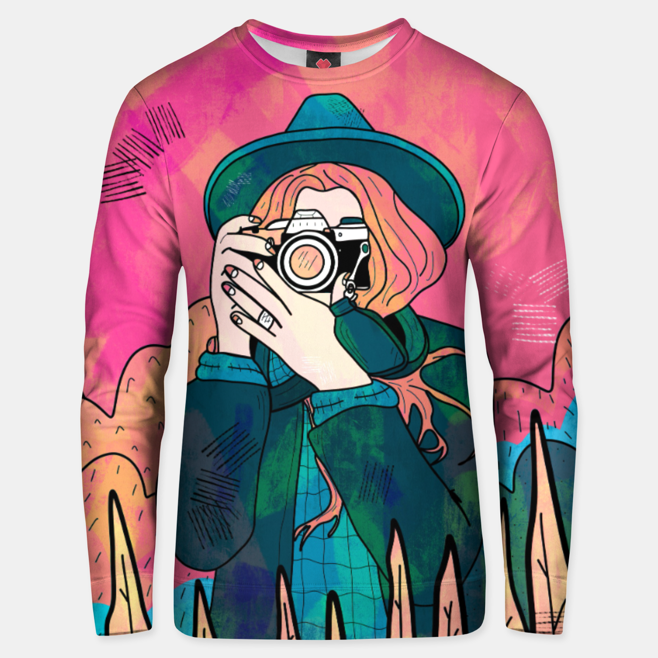 Image of The space photographer Unisex sweater - Live Heroes