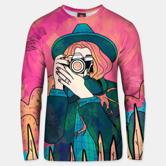 Thumbnail image of The space photographer Unisex sweater, Live Heroes