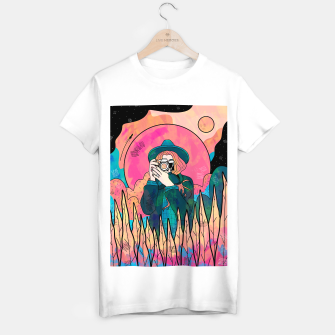 Thumbnail image of The space photographer T-shirt regular, Live Heroes