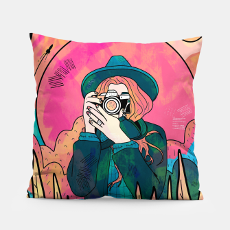 Thumbnail image of The space photographer Pillow, Live Heroes