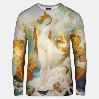 Thumbnail image of The Birth of Venus Unisex sweater, Live Heroes