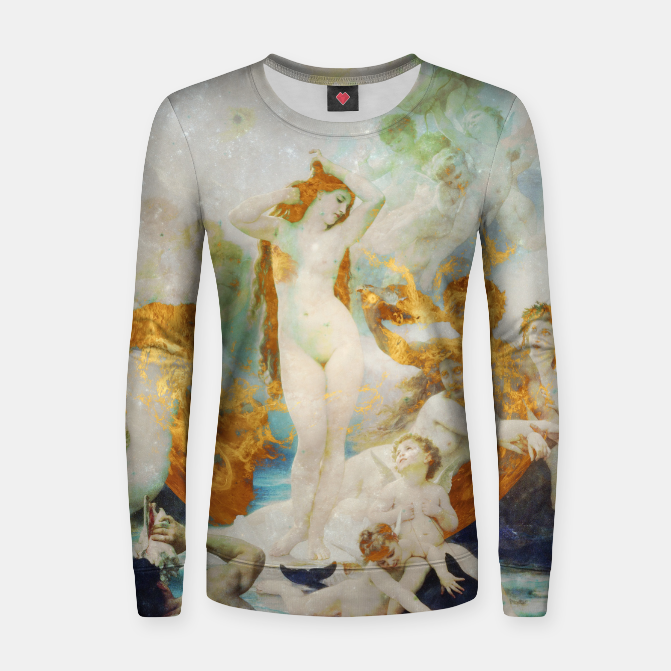 Image of The Birth of Venus Women sweater - Live Heroes