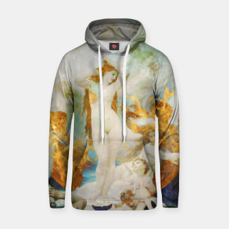 Thumbnail image of The Birth of Venus Hoodie, Live Heroes