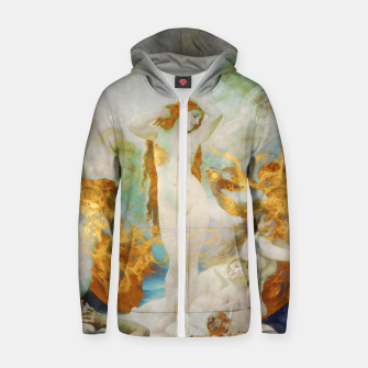Thumbnail image of The Birth of Venus Zip up hoodie, Live Heroes