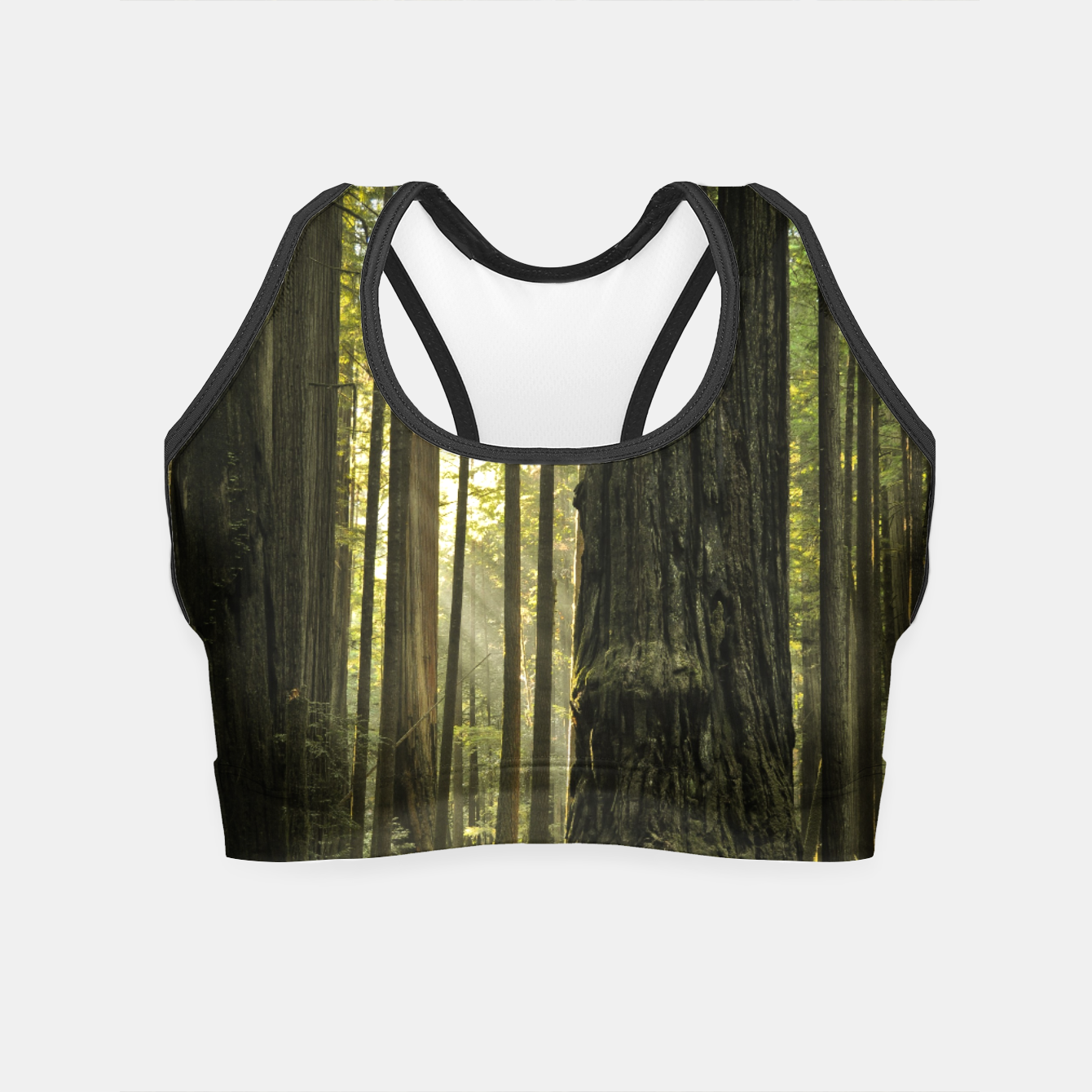 Image of Into the woods Crop Top - Live Heroes