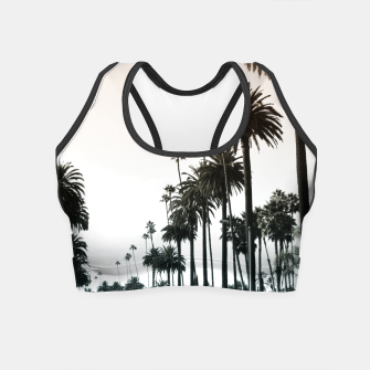 Thumbnail image of Los Angeles Palm Trees Crop Top, Live Heroes