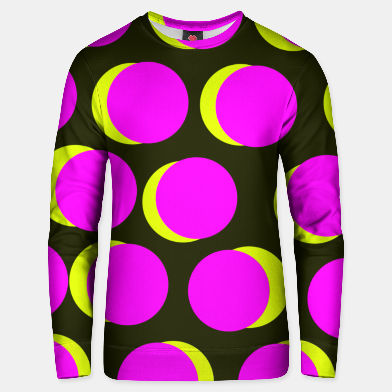 Image of Pinky yellow dots Bluza unisex - Live Heroes
