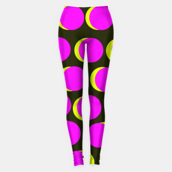 Thumbnail image of Pinky yellow dots Legginsy, Live Heroes