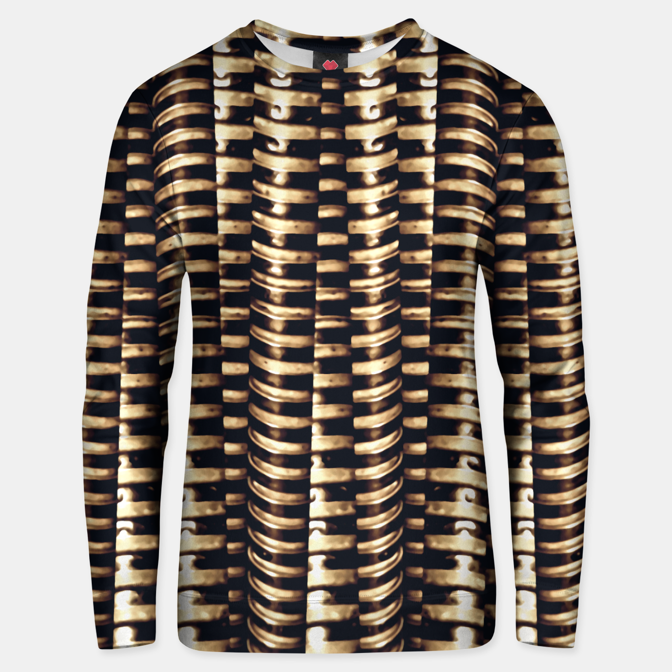 Image of Modern Tech Stripes Print Unisex sweater - Live Heroes