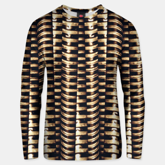Thumbnail image of Modern Tech Stripes Print Unisex sweater, Live Heroes