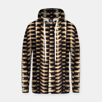 Thumbnail image of Modern Tech Stripes Print Hoodie, Live Heroes
