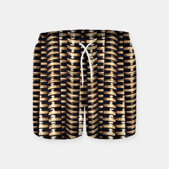 Miniaturka Modern Tech Stripes Print Swim Shorts, Live Heroes