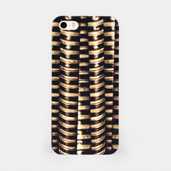 Miniaturka Modern Tech Stripes Print iPhone Case, Live Heroes