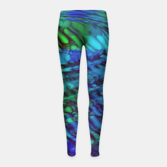 Thumbnail image of zappwaits - spirit Girl's leggings, Live Heroes