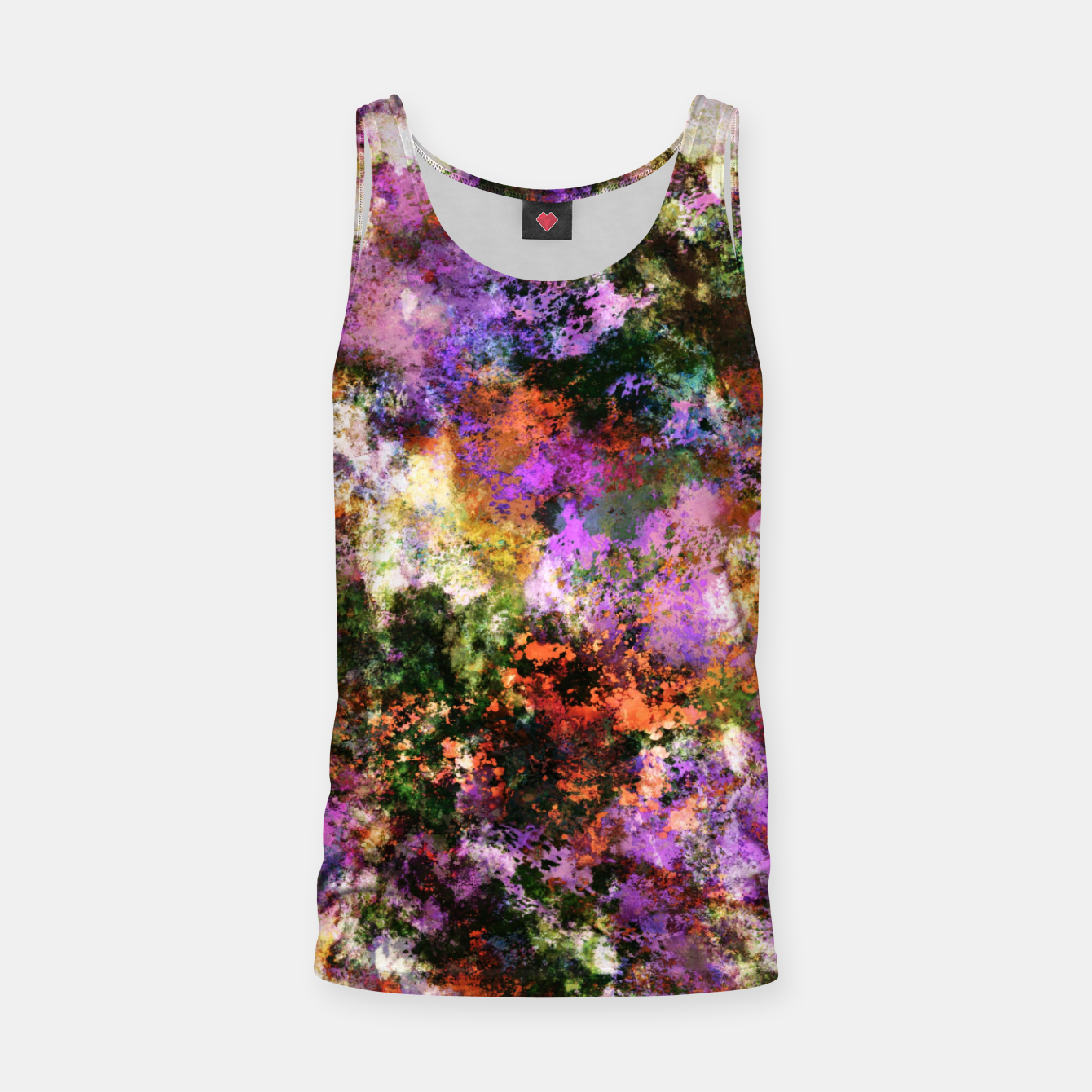 Image of Second guess Tank Top - Live Heroes