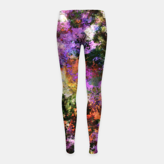 Thumbnail image of Second guess Girl's leggings, Live Heroes