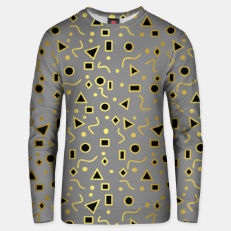 Thumbnail image of Grey And Black Mod Shapes Unisex sweater, Live Heroes