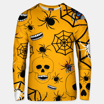 Thumbnail image of Skull Halloween Unisex sweater, Live Heroes
