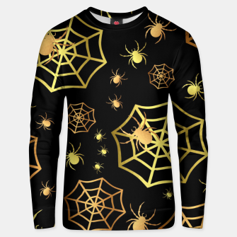 Miniatur Spiders In Gold Unisex sweater, Live Heroes