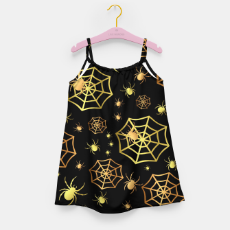 Miniaturka Spiders In Gold Girl's dress, Live Heroes