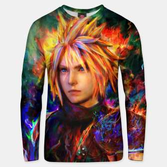 final fantasy vii cloud  Unisex sweater obraz miniatury