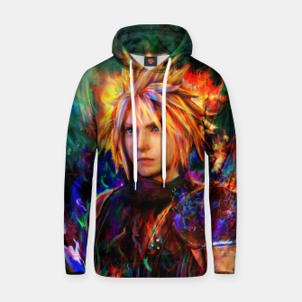 final fantasy vii cloud  Hoodie obraz miniatury
