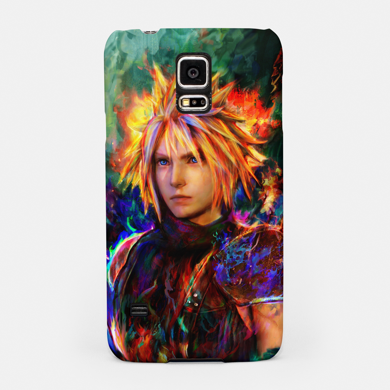 Image of final fantasy vii cloud  Samsung Case - Live Heroes