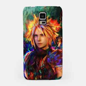 Thumbnail image of final fantasy vii cloud  Samsung Case, Live Heroes