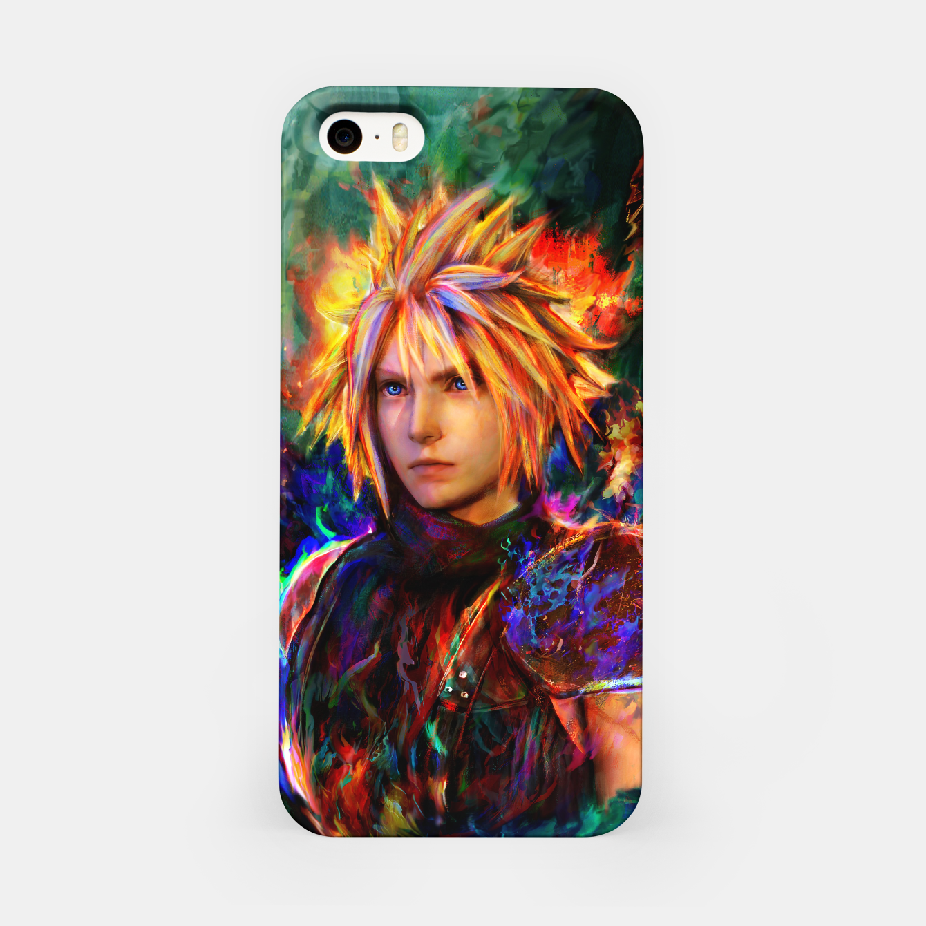 Image of final fantasy vii cloud  iPhone Case - Live Heroes