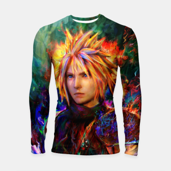 Thumbnail image of final fantasy vii cloud  Longsleeve rashguard , Live Heroes