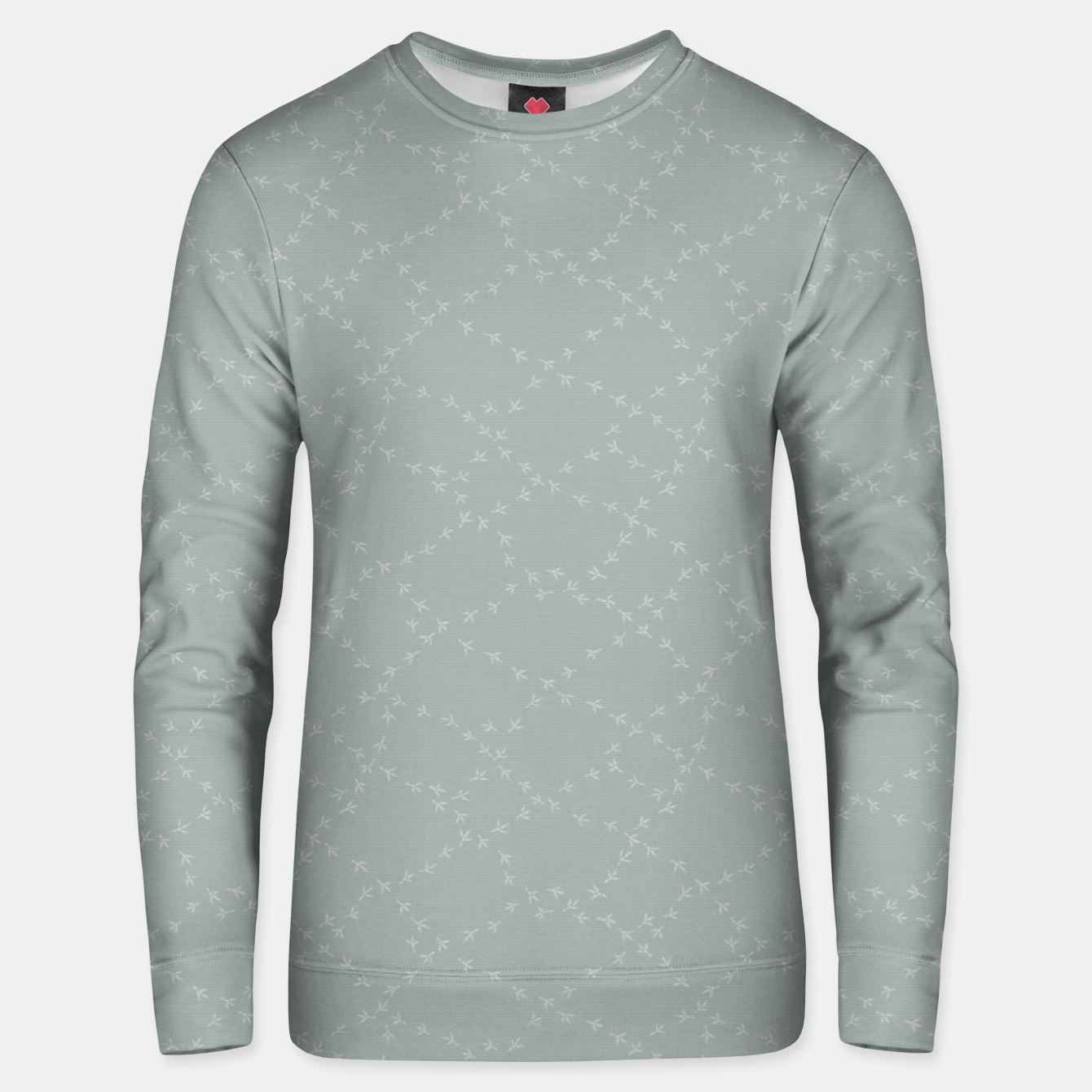 Image of The tracks of birds adventures Unisex sweater - Live Heroes